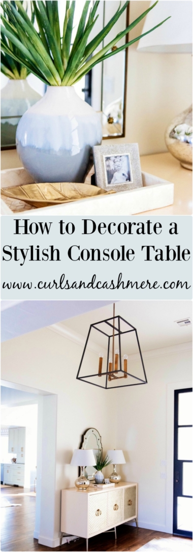 How To Decorate Console Table ... Part 64