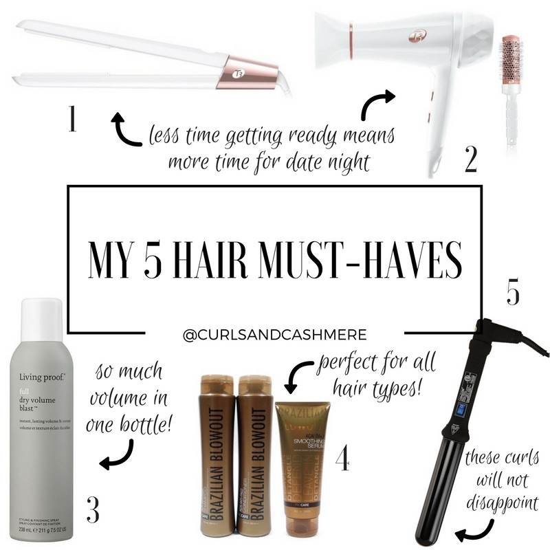Must Have Hair Tools I Use Regularly…