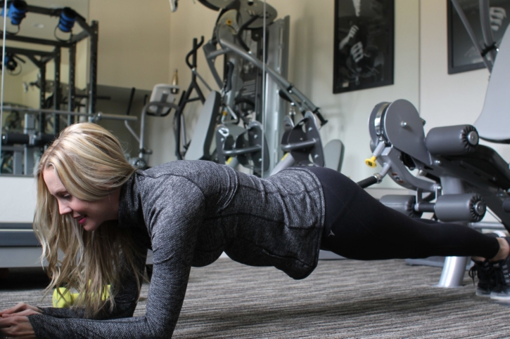 workout tips plank