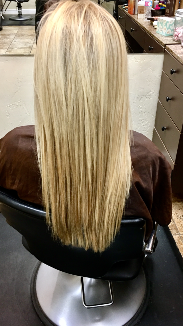 smoothing hair treatment
