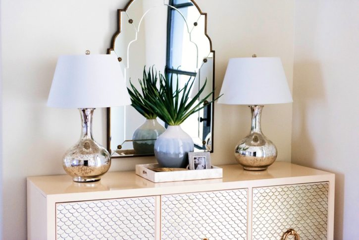 How to Decorate a Console Table Curls and Cashmere