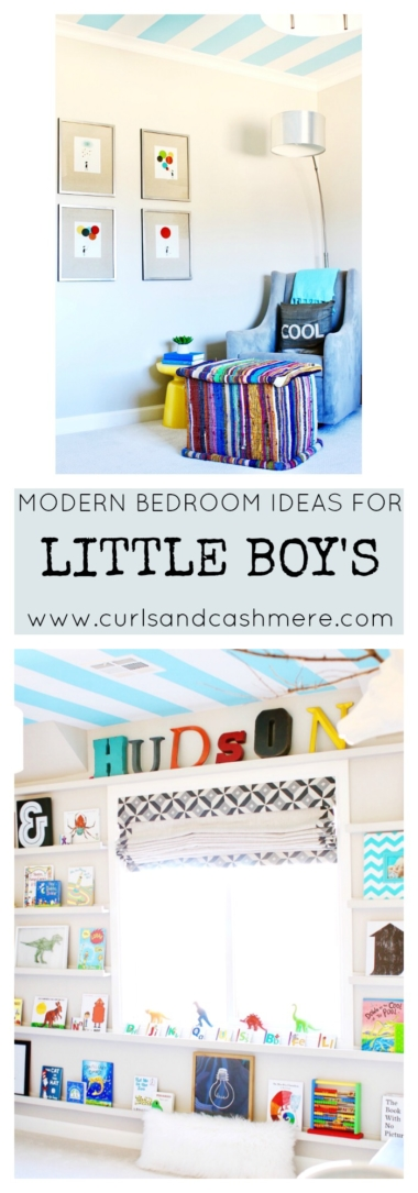 Modern Bedroom Ideas for Boys | Curls and Cashmere