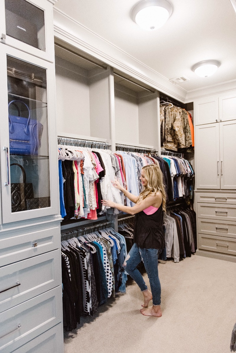 master closet organization ideas with beeneat organizing 16011 | master closet organization ideas blogger closet