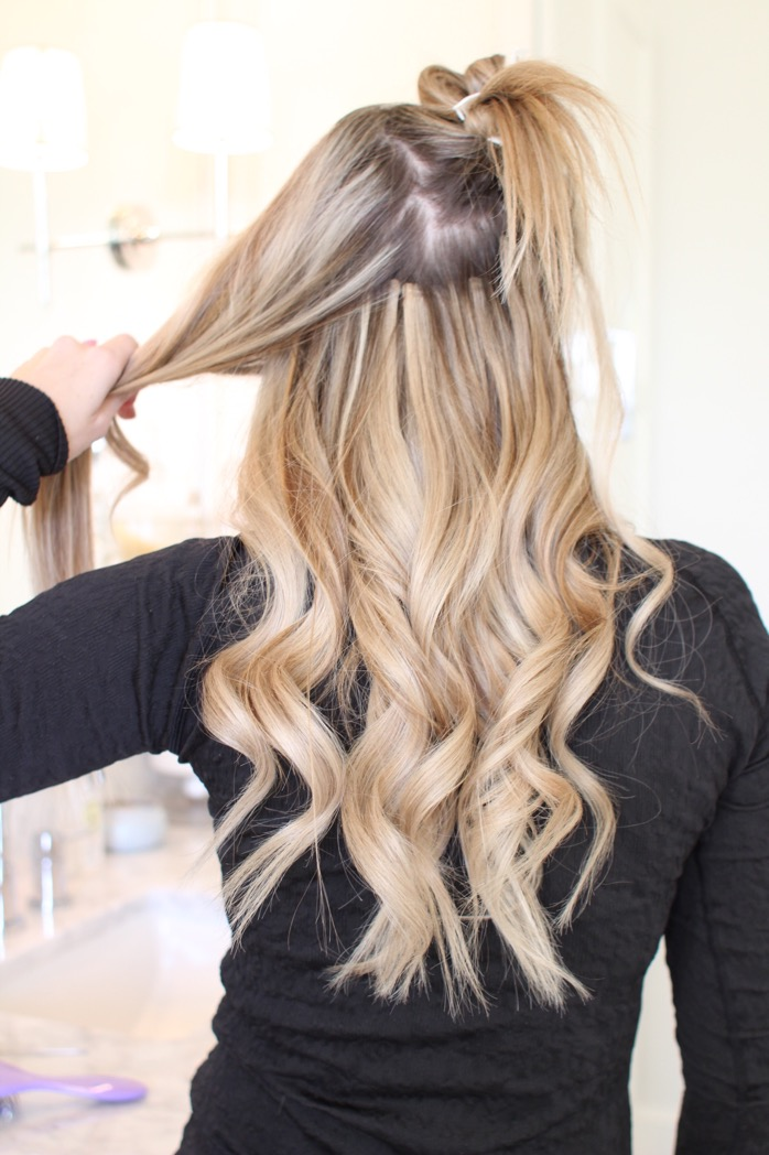How to Curl your Hair with a Wand by popular Oklahoma style blogger Curls and Cashmere