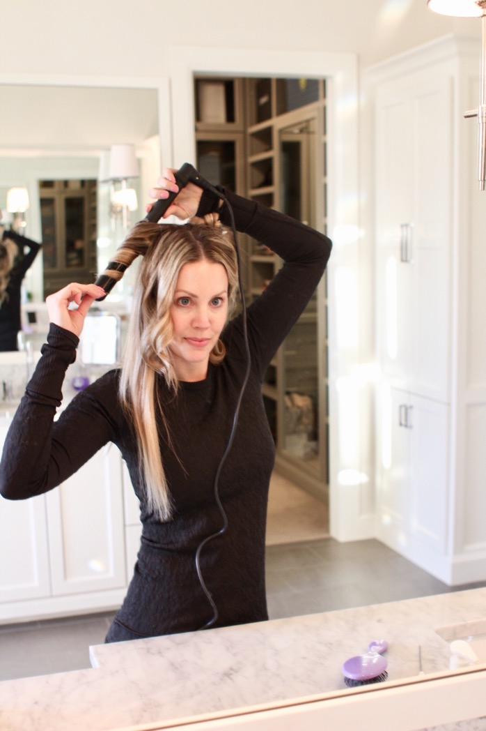 How To Curl Your Hair With A Wand Curls And Cashmere